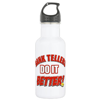 Bank Teller designs Water Bottle