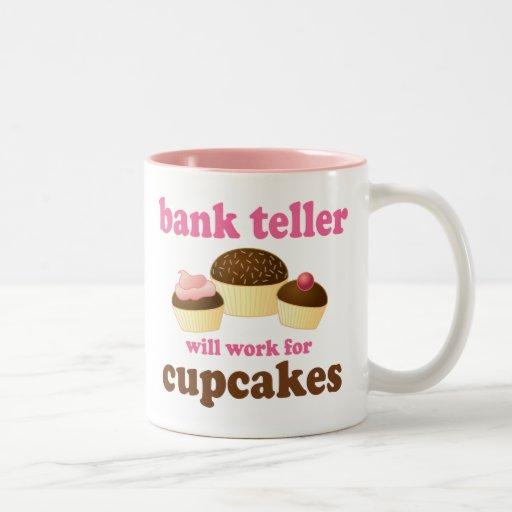 Bank Teller (Funny) Gift Coffee Mugs