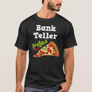 Bank Teller (Funny) Pizza Gift T-Shirt