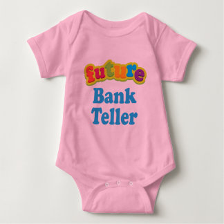 Bank Teller (Future) For Child Baby Bodysuit