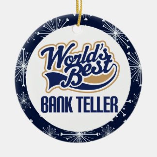 Bank Teller Gift Ornament