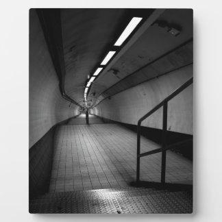 Bank Underground Subway Plaque