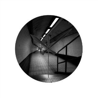 Bank Underground Subway Round Clock