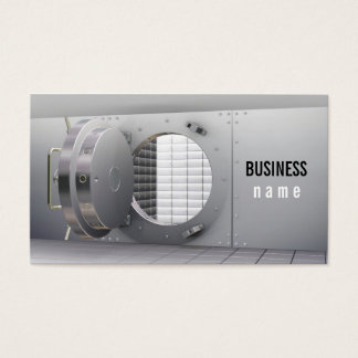Bank Vault Business Card