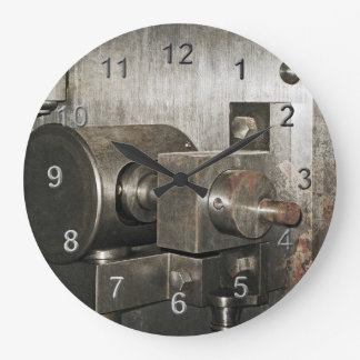 Bank Vault Wall Clocks