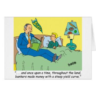 BANKER / BROKER / BEDTIME STORY /INVESTING GREETING CARDS