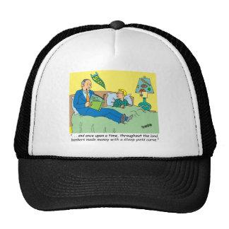BANKER / BROKER / BEDTIME STORY /INVESTING HAT