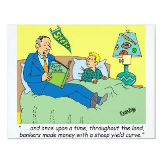 BANKER / BROKER / BEDTIME STORY /INVESTING INVITATION
