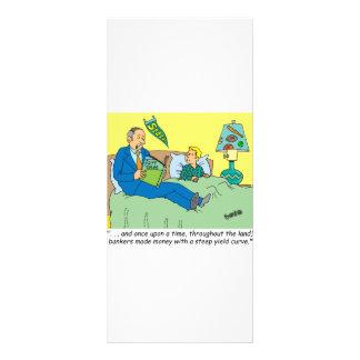 BANKER / BROKER / BEDTIME STORY /INVESTING CUSTOM RACK CARDS