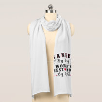 banker by day world's best mom by night banker scarf