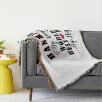 banker by day world's best mom by night banker throw blanket