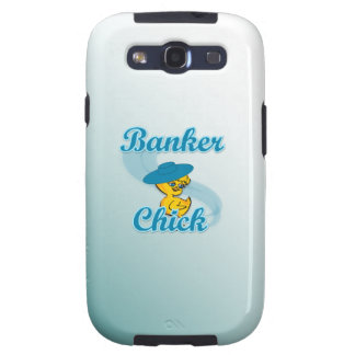 Banker Chick 3 Samsung Galaxy SIII Cases