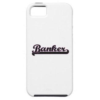 Banker Classic Job Design iPhone 5 Covers