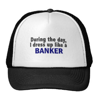 Banker During The Day Mesh Hat