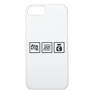 Banker finance symbols iPhone 8/7 case