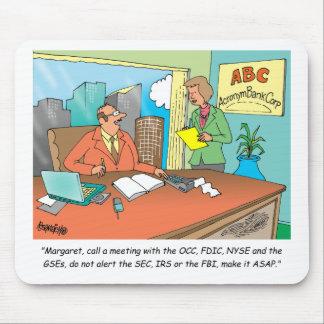 Banker / Financial / Stock Broker Mouse Pad