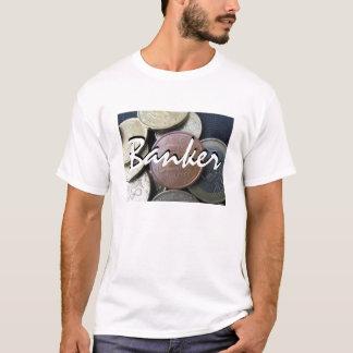 Banker In Linen T-Shirt