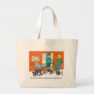 Banker / Loan Officer / Broker Gifts Canvas Bags