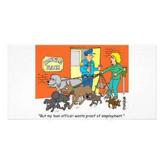 Banker Loan Officer Broker Gifts Photo Card