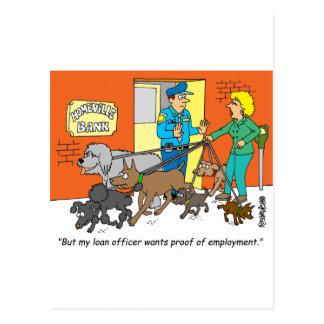 Banker / Loan Officer / Broker Gifts Postcards