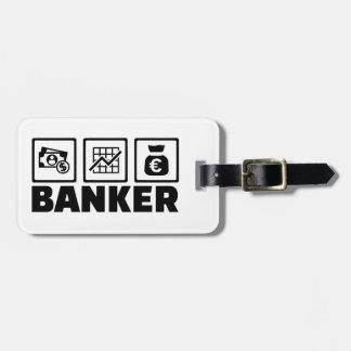 Banker Travel Bag Tag