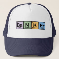 Trucker Hat with Banker design