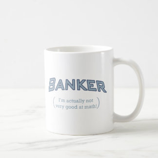 Banker - Math Coffee Mug