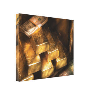 Banker - My Precious  Canvas Print