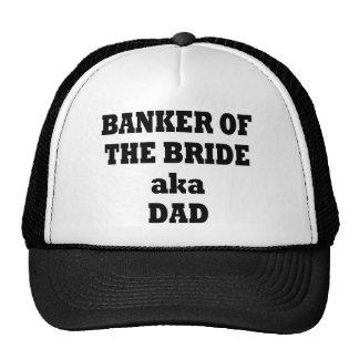 BANKER OF THE BRIDE aka DAD Trucker Hat
