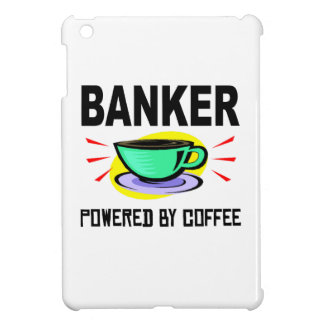 Banker Powered By Coffee iPad Mini Cover