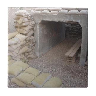 Banker sandbags protection tile