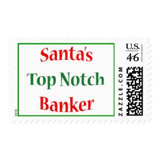 Banker Top Notch Stamp