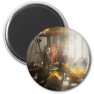 Banker - Worth its weight in gold 2 Inch Round Magnet