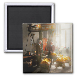 Banker - Worth its weight in gold 2 Inch Square Magnet