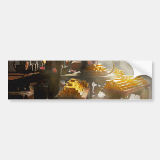 Banker - Worth its weight in gold Bumper Sticker