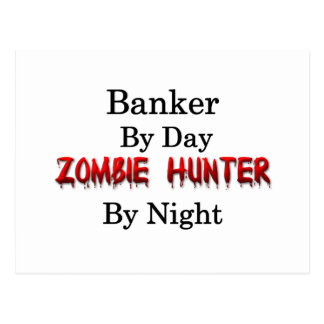 Banker/Zombie Hunter Postcard