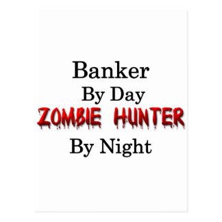 Banker/Zombie Hunter Postcard