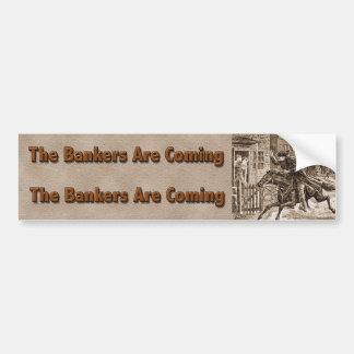 Bankers bumper bumper sticker