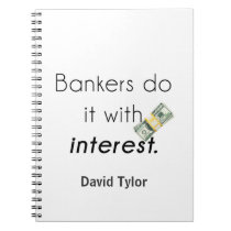 Bankers do it! notebook