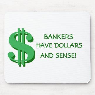 Bankers Dollars and Sense Mousepad