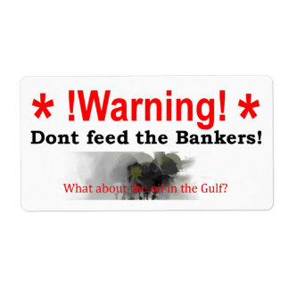 bankers /gulfl oil label