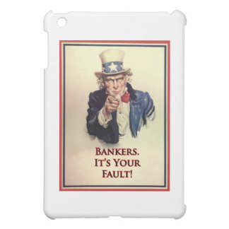 Bankers Uncle Sam Poster Cover For The iPad Mini