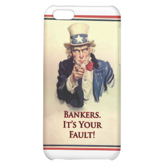 Bankers Uncle Sam Poster iPhone 5C Case