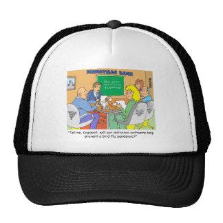 BANKING / ANTI VIRUS SOFTWARE / BIRD FLU HATS