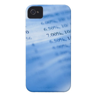 Banking charts iPhone 4 case