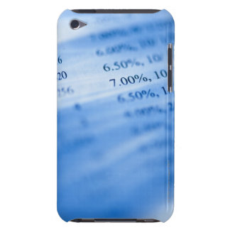Banking charts iPod touch Case-Mate case