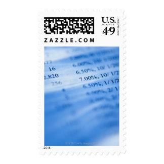 Banking charts stamp