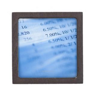 Banking charts premium gift boxes