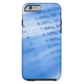 Banking charts tough iPhone 6 case