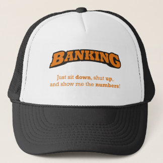 Banking / Numbers Trucker Hat